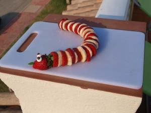 Erdbeer Bananen Schlange