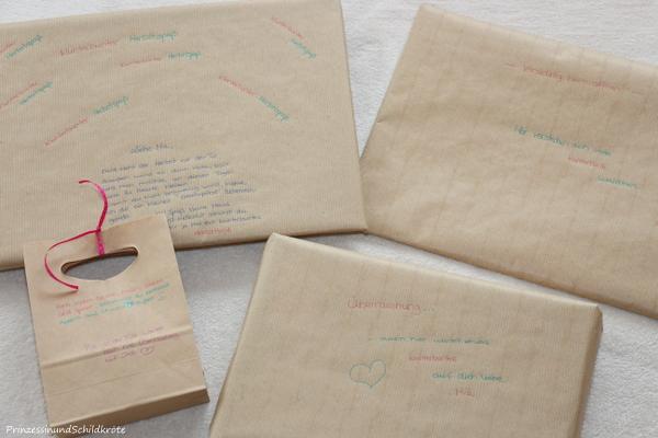 Tauschpakete verschicken