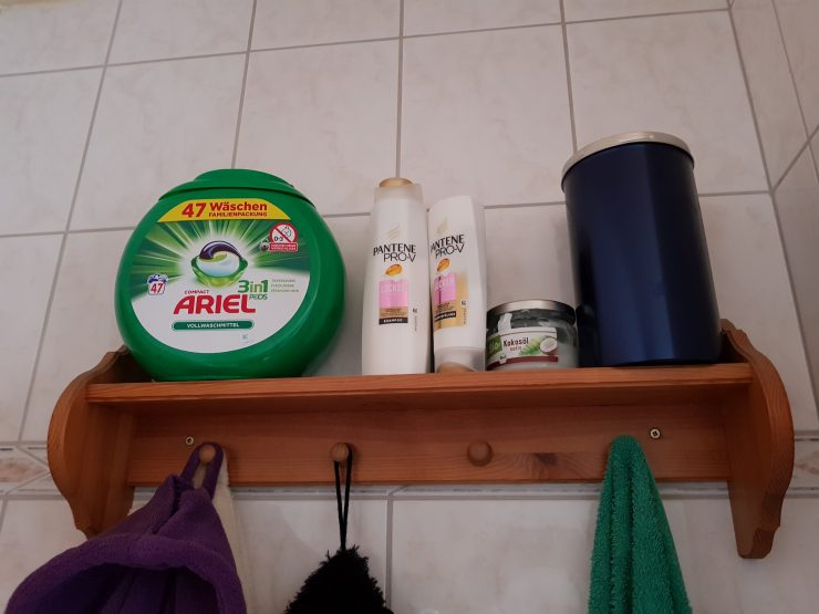 Ariel Pods mit Kindersicherheitsverschluss